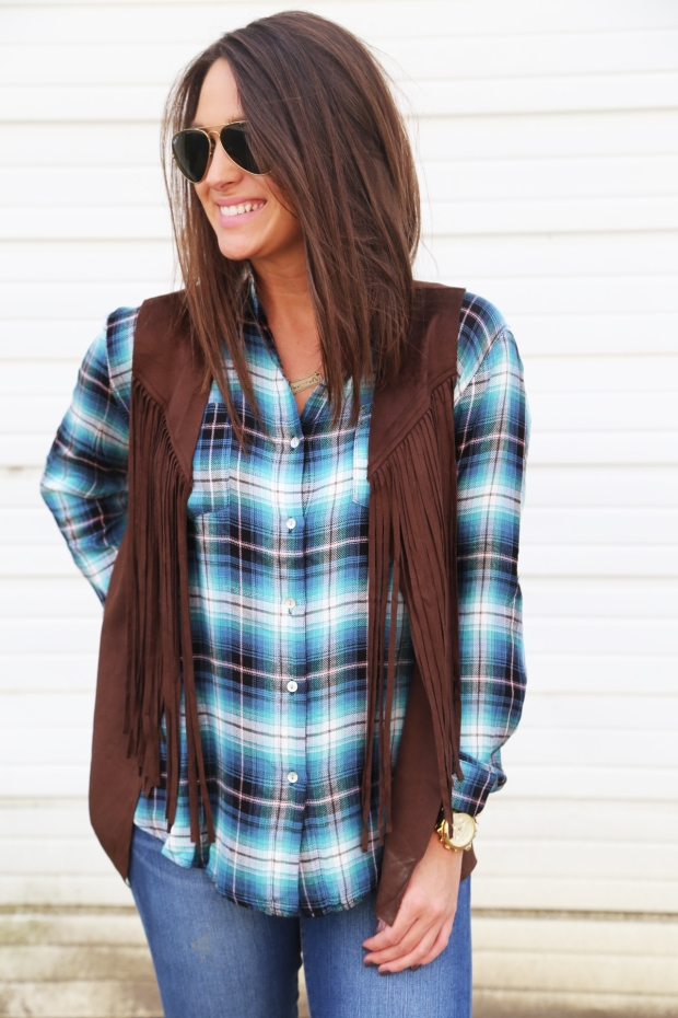 Out West {Fringe Vest}2