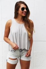 Moonstruck Cropped Tank